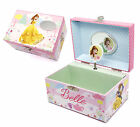 Personalised Disney Princess Bella Girls Musical Jewellery box, Engraved Gift