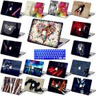 Painted pattern Hard Case KB cover For Laptop Macbook Air Pro 11 13 15 Retina 12