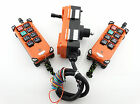 2 Transmitter & 1 Receiver Hoist Crane Radio Industrial Wireless Remote Control