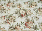 Discount Fabric Richloom Upholstery Drapery Shabby Chic Jaquard Floral RL111
