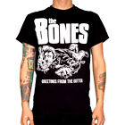 THE BONES Shirt S,M,L,XL Hellacopters/Social Distortion/Turbonegro/Ramones