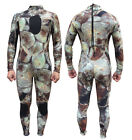 3mm Camouflage Wetsuit Neoprene Scuba Diving Suit Warm Swimming Surf Snorkeling