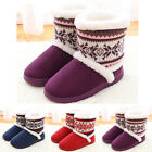 Womens Girls Fashion Slippers Boots Comfort Shoes Ankle Winter Warm Snow Boots