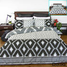 Dakota Reversible Quilt Cover Set by Apartmento - SINGLE DOUBLE QUEEN KING