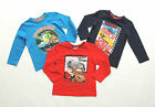 DISNEY CARS LONG SLEEVE SHIRT PULLOVER SIZE 98 104 110 116 122 128
