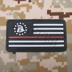 The Thin Red Line DON'T TREAD ON ME America flag 3D PVC Patch