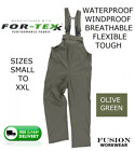 BIB AND BRACE WATERPROOF,FISHING,ANGLING,FARM,PRESSURE WASHER,SUPPLE,LIGHT,OCEAN
