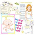 Fun Baby Shower Games Selection - Unisex, neutral - All in one Listing!