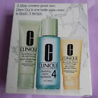 CLINIQUE 3-STEP STARTER KIT FOR SKIN 1, 2, 3,4, BLEMISH SOLS AND THE NEW 1.0 SET