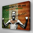 S562 Conor McGregor Here to Take Over UFC Canvas Art Framed Poster Prints