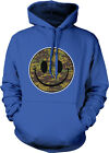 Smiley Face Army Camouflage Soldier Military Armed Forces USA Hoodie Sweatshirt