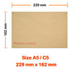 Hard Board Back Envelop A5 / C5 229mmX162mm Cheapest FAST & FREE Delivery UK
