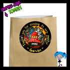 Ninjago Birthday Party Favor Goody Bag STICKERS - Personalized Labels