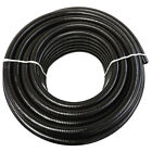 "3/4"" x 25' Black Flexible PVC Pipe, Hose, Pond Tubing for Koi & Water Gardens"