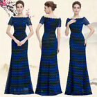 Ever Pretty Women's Long Party Evening Gown Short Sleeve Bridesmaid Dress 08799