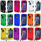 Case Combo Hard Hybrid Case Snap On Cover Silicone For iPhone 5SE