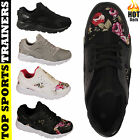 Mens Ladies Running Trainers  Running Comfort Athletic Lace Up Sports Shoes Size