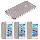 Thin Soft Plating Bumper Frame TPU Gel Silicone Case Cover For iPhone 6/6S/Plus