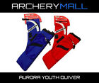 AURORA YOUTH QUIVER - Red/Blue - Pockets/3 tubes