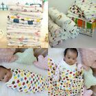 Newborn Infant Triangle Cross Swaddle Baby Cotton Bamboo Blanket Parisarc Wrap