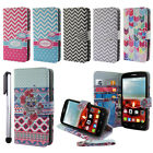 Wallet POUCH STAND Case Cover FOR Alcatel One Touch Fierce 2 7040T + PEN