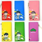 SIX SAME FACES Konya wa Saikou Mr.Osomatsu San Wallet Card Bag Cosplay Purse New