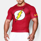 Under Armour Alter Ego The Flash Mens Red Short Sleeve Compression T Shirt