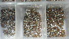Swarovski Topaz Crystals Non Hotfix Rhinestones for Nail Art Decoration