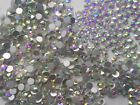 Swarovski AB Clear Crystals Non Hotfix Rhinestones for Nail Art Decoration