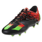 adidas Men's Messi 15.1 FG/AG Core Black/ Neon Green/Infrared AF4654