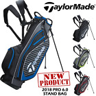 TAYLORMADE STAND BAG PRO 4.0 CARRY BAG NEW 2017 DOUBLE STRAP STAND BAG