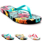 Womens Ipanema Paraiso Flower Lightweight Holiday Toe Post Flip Flops UK 3-8