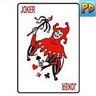 Joker Red Playing Card