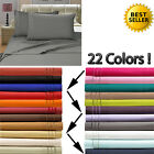 Egyptian Quality 1500 Count Deep Pocket 4 Piece Bed Sheet Set image