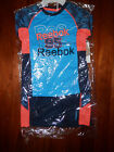 NWT-Boys 2 Piece Reebok Short Sleeve Logo Short Set--Bright Navy-0419-0828-CL