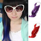 Flip in Hair Extension Womens Lolita Fashin Long Wavy Curly Synthetic Hairpiece