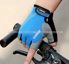 Summer Breathable Sports Cycling Bike Bicycle Gym Non-Slip Half Finger Gloves S1
