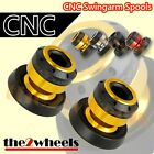 Aluminium Tobor Swingarm Spools Sliders M8 / 8mm for Suzuki GSX650F 2008+