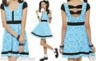 "BUBBLES COSPLAY DRESS FOR JUNIORS ""THE POWERPUFF GIRLS"" FREE SHIPPING"