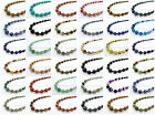 Handmade Natural Gemstone Beads 4~12mm Graduated Adjustable Necklace Healing image