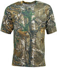 Mens Real Tree xtra Camouflage Short Sleeve Camo T Shirt | Top