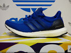 NEW ADIDAS Ultra Boost Men's Running Shoes - Blue/White;  AQ5932