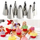 7Pcs Russian Skirt Icing Piping Nozzles Tips Cake Decorating Fondant Baking Tool