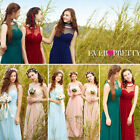Women's Long Bridesmaid Dresses Formal Evening Prom Party Gown 08761 US Seller