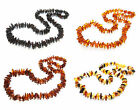 Genuine baltic amber necklace for adult. 45-46 cm / 17.7-18.1 in
