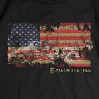 Patriotic Home of the Free T-SHIRT USA American Flag TEE image
