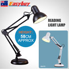 Swivel Arm Desk Table Reading Light Hobby Lamp Home Office Bedroom Bedside Study