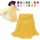 Chiffon Scarfs Spring And Autumn Women'S Neckwear Solid Color Scarf Silk
