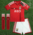 Benfica Home Kit - Adidas Boys Full Football Kit - Shirt Shorts Socks -All Sizes
