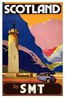 SCOTLAND BY SMT VINTAGE STYLE REPRODUCTION TRAVEL POSTER Choice of sizes.